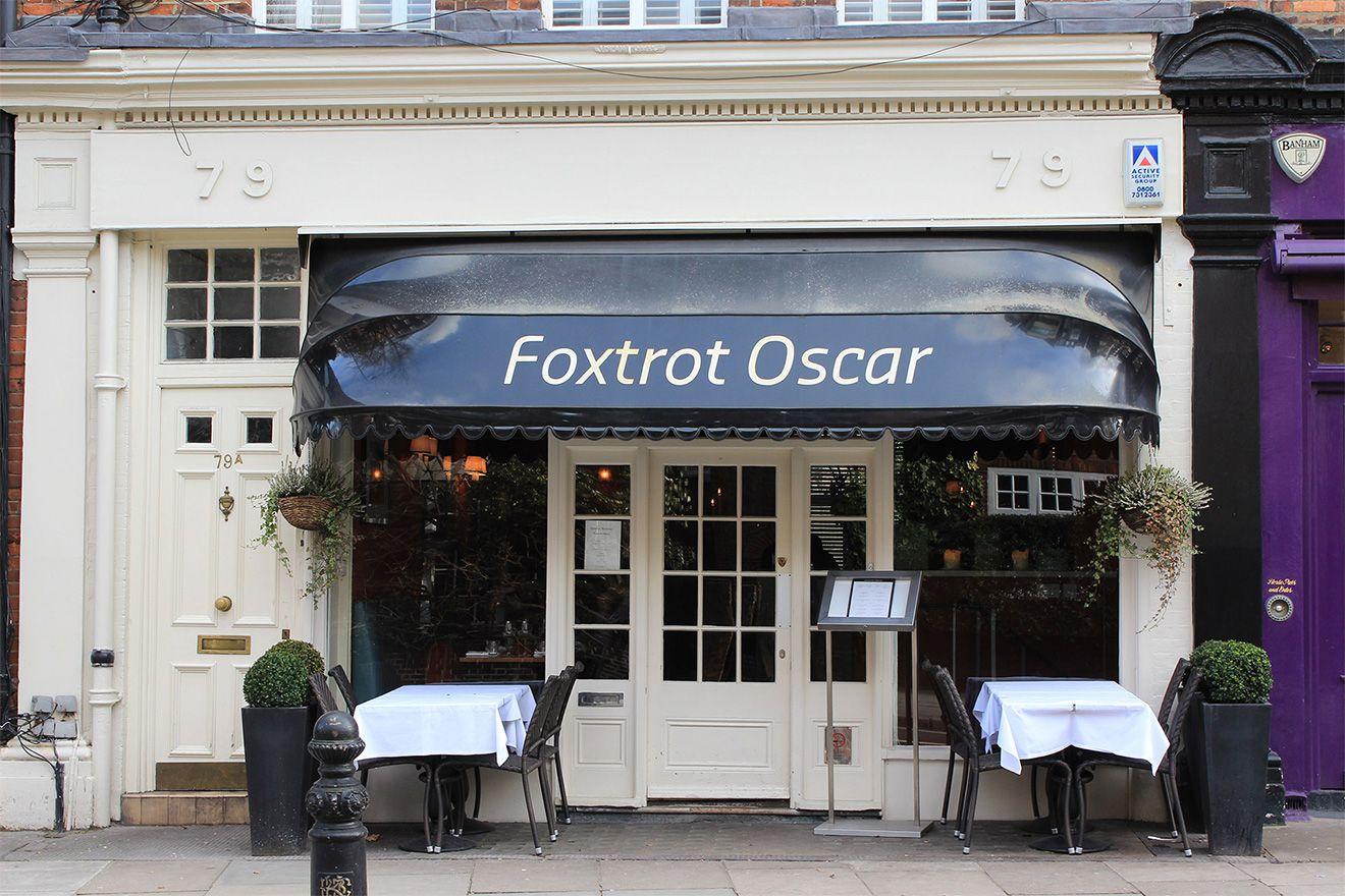 Gordon Ramsay's Foxtrot Oscar restaurant in London