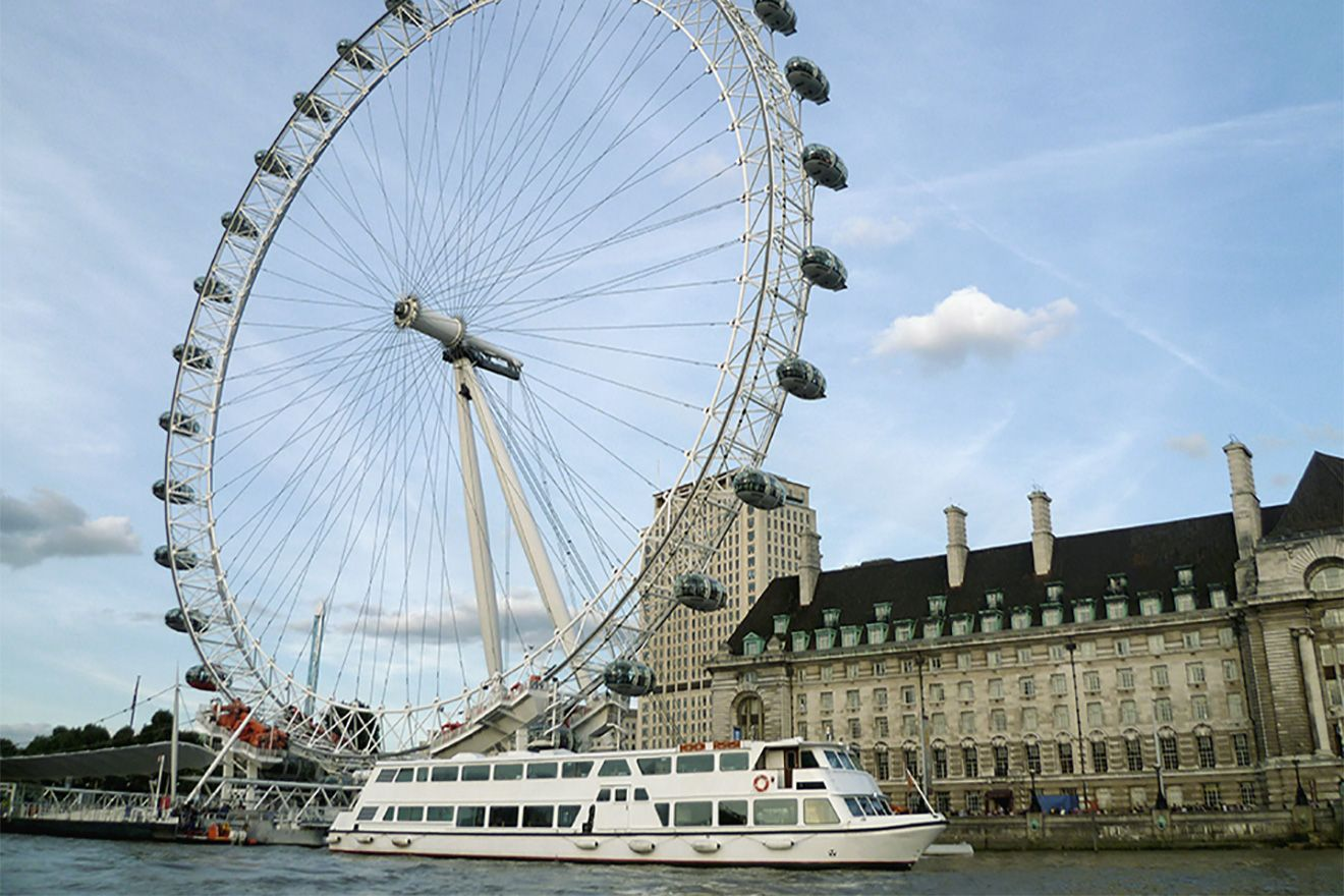 The famous London Eye