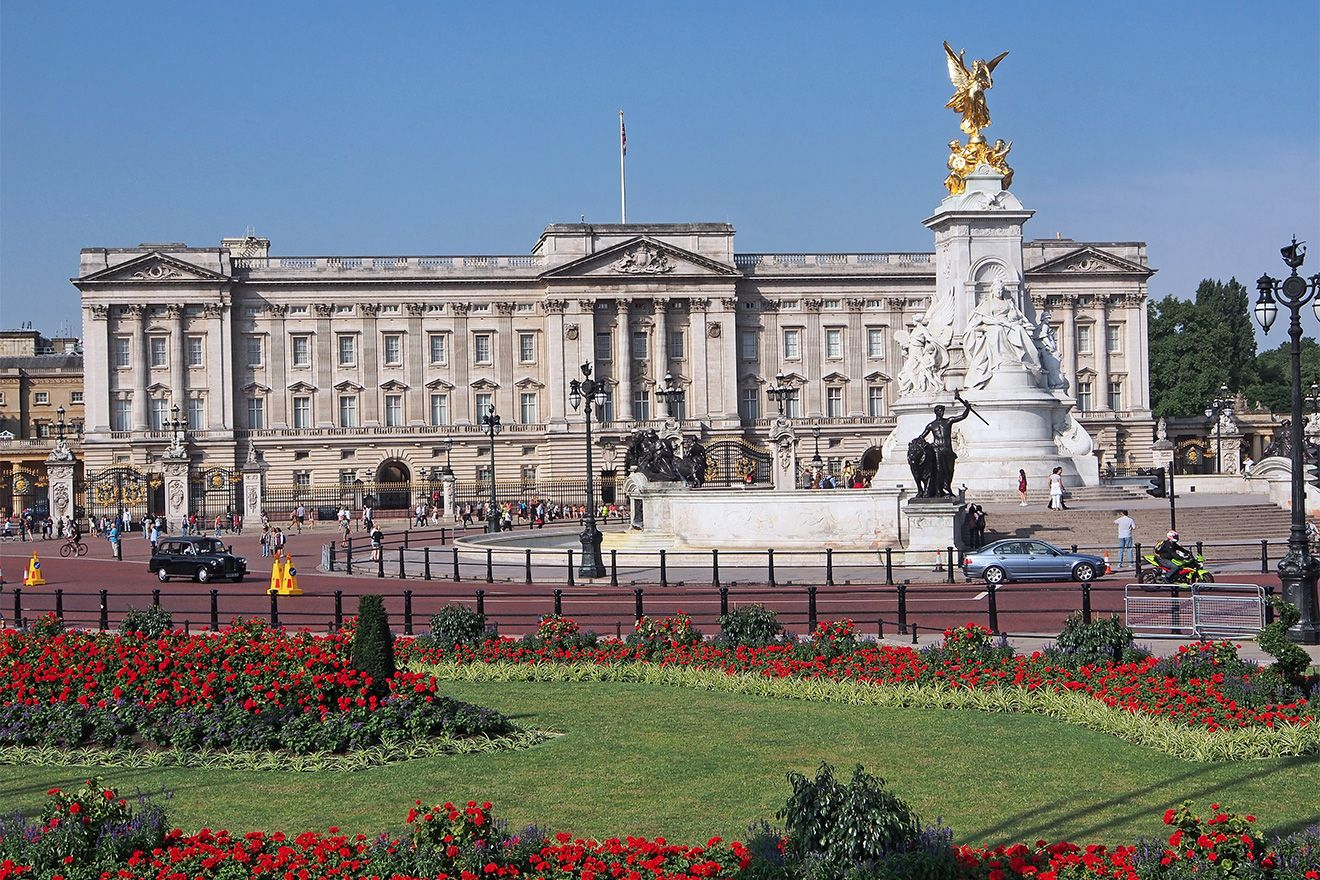 The regal Buckingham Palace