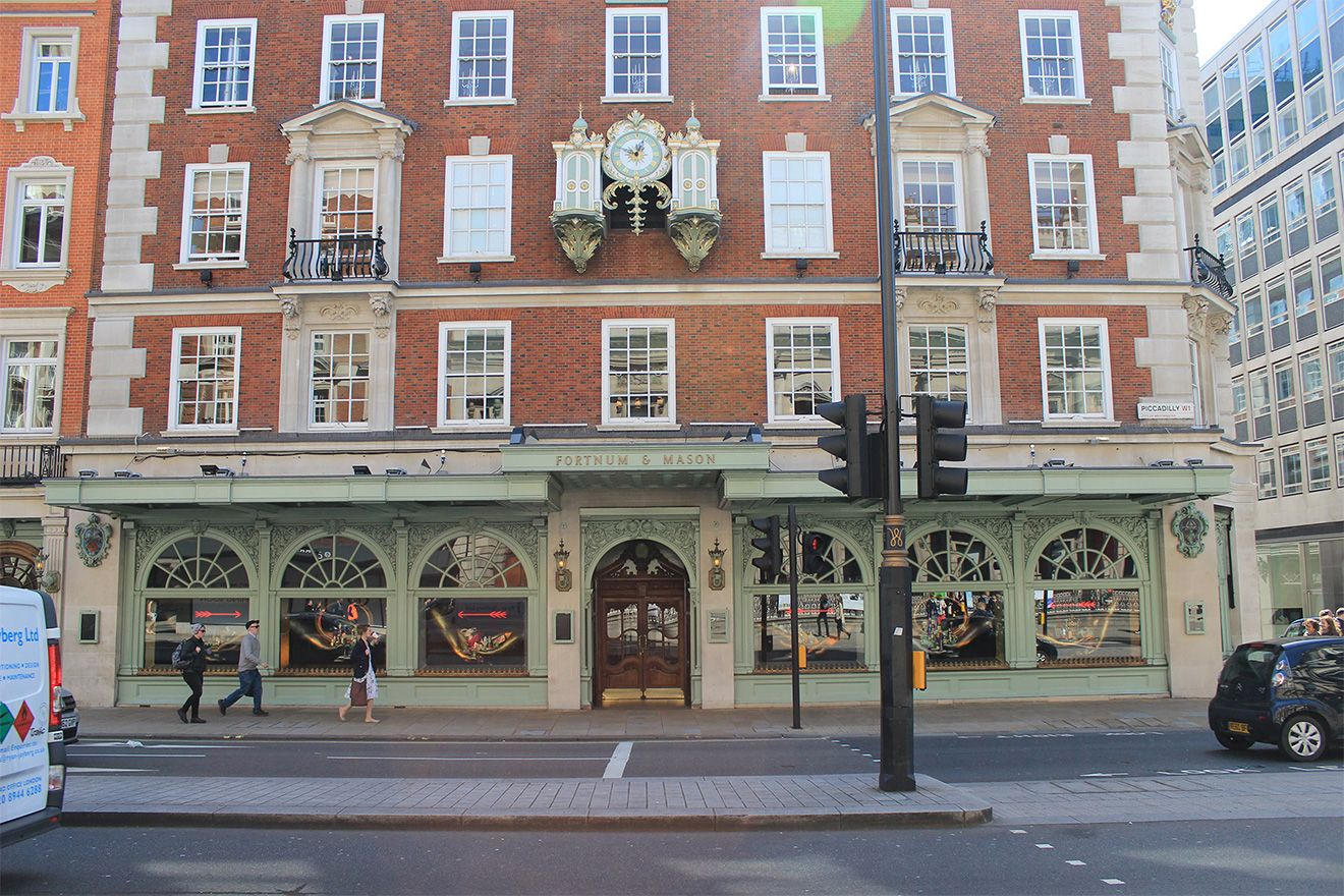 Fortnum and Mason Department store exterior