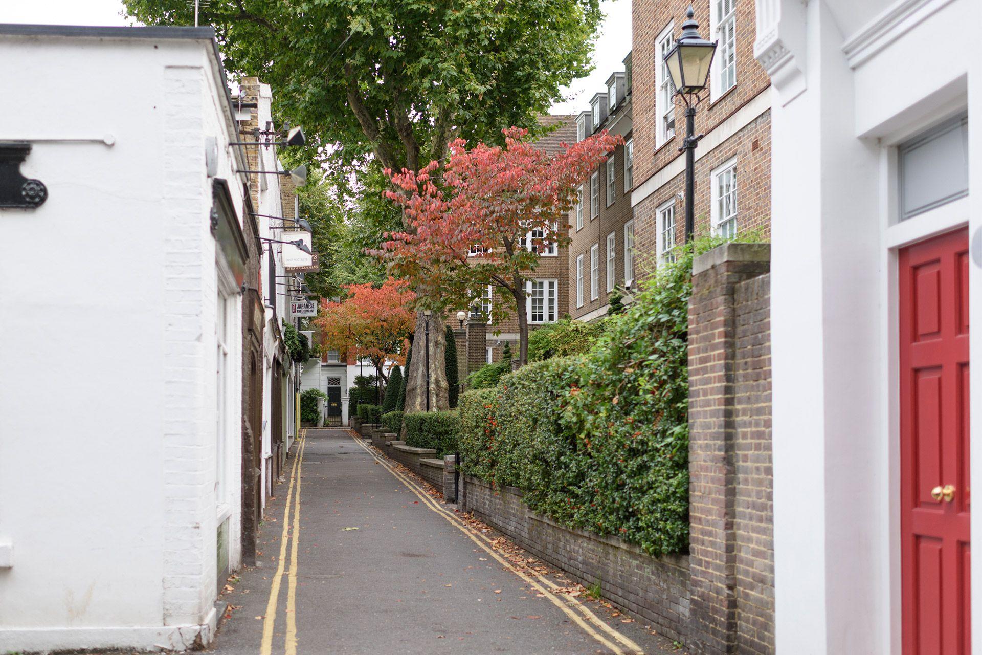 Charming London side street