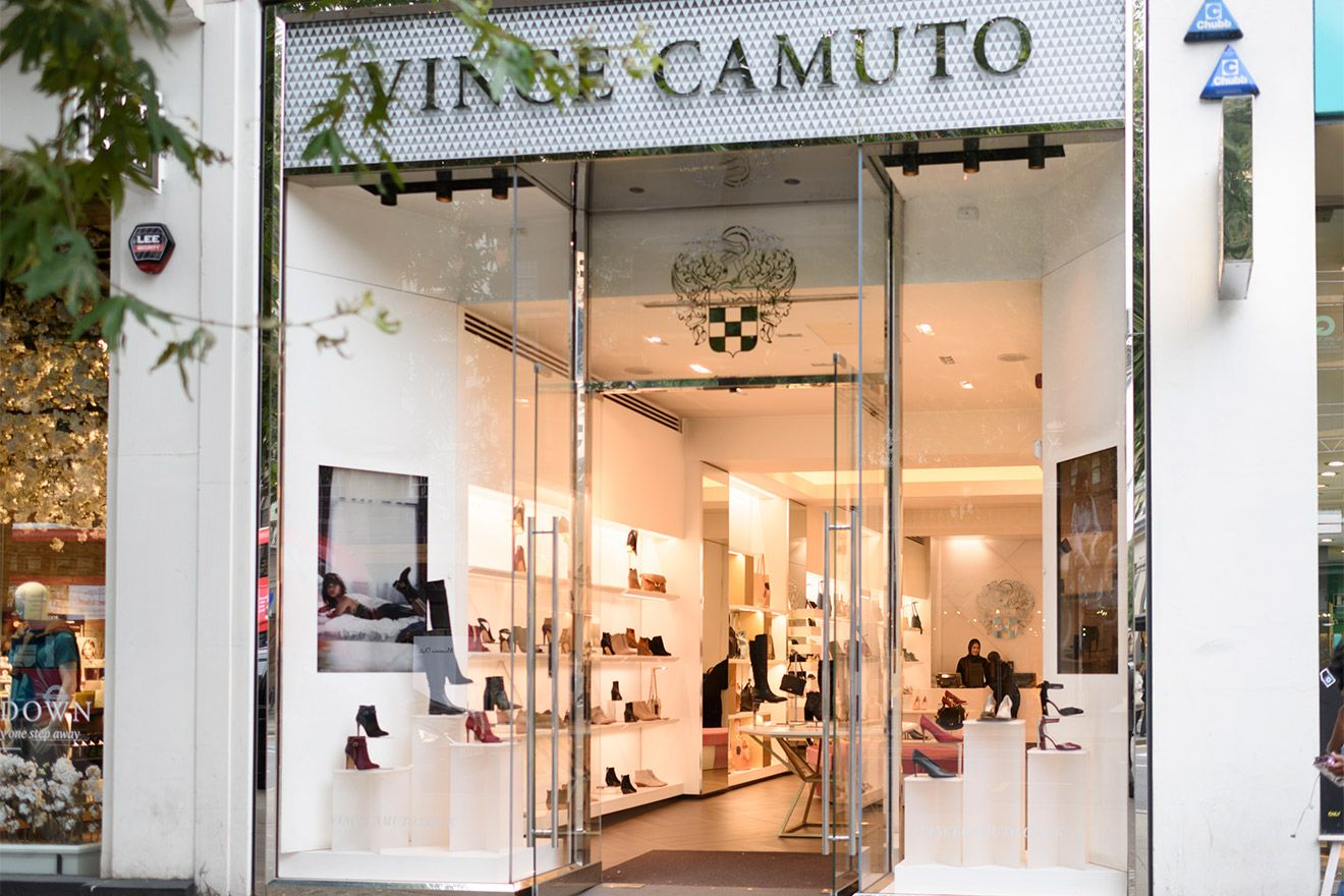 Vince Camuto shop in Kensington London