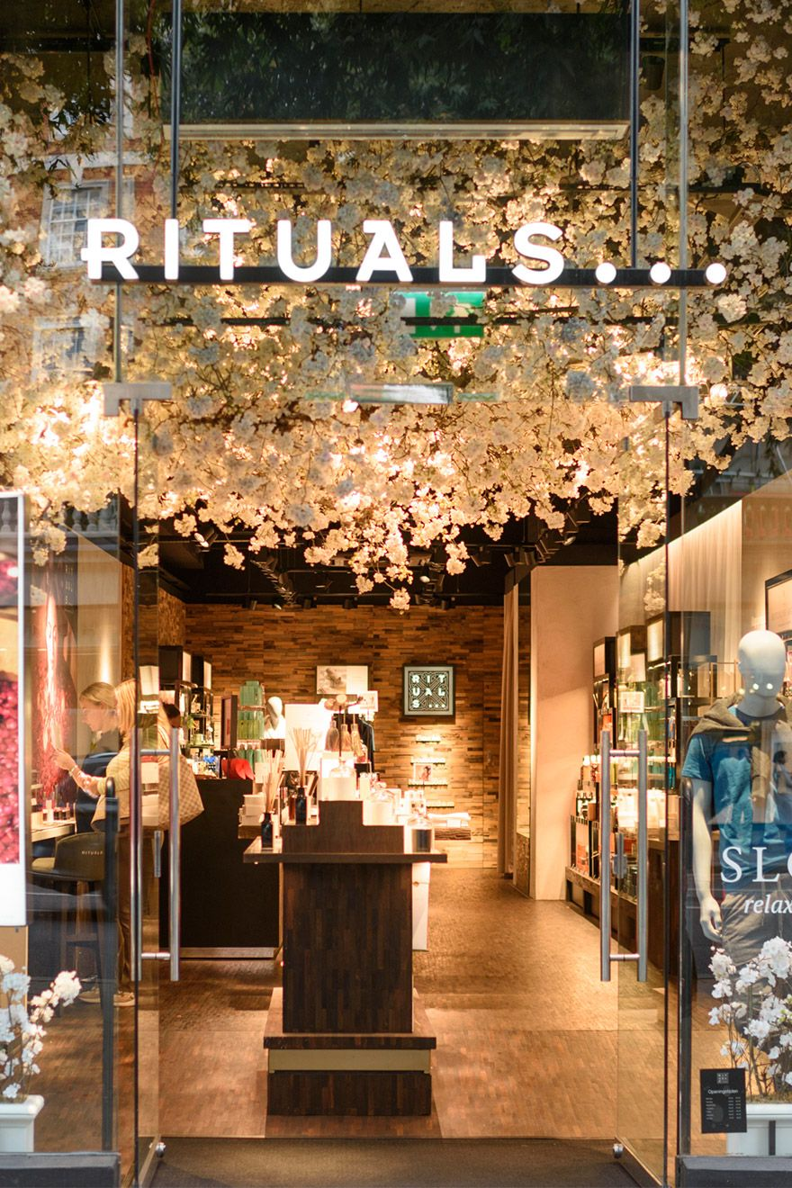 Rituals shop front in Kensington London