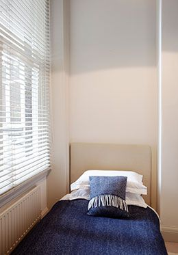 Quiet third bedroom of the Sloane vacation rental offered by London Perfect