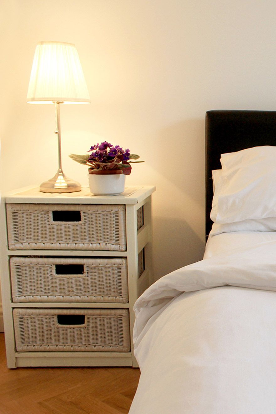 Comfortable first bedroom of the Russell vacation rental offered by London Perfect