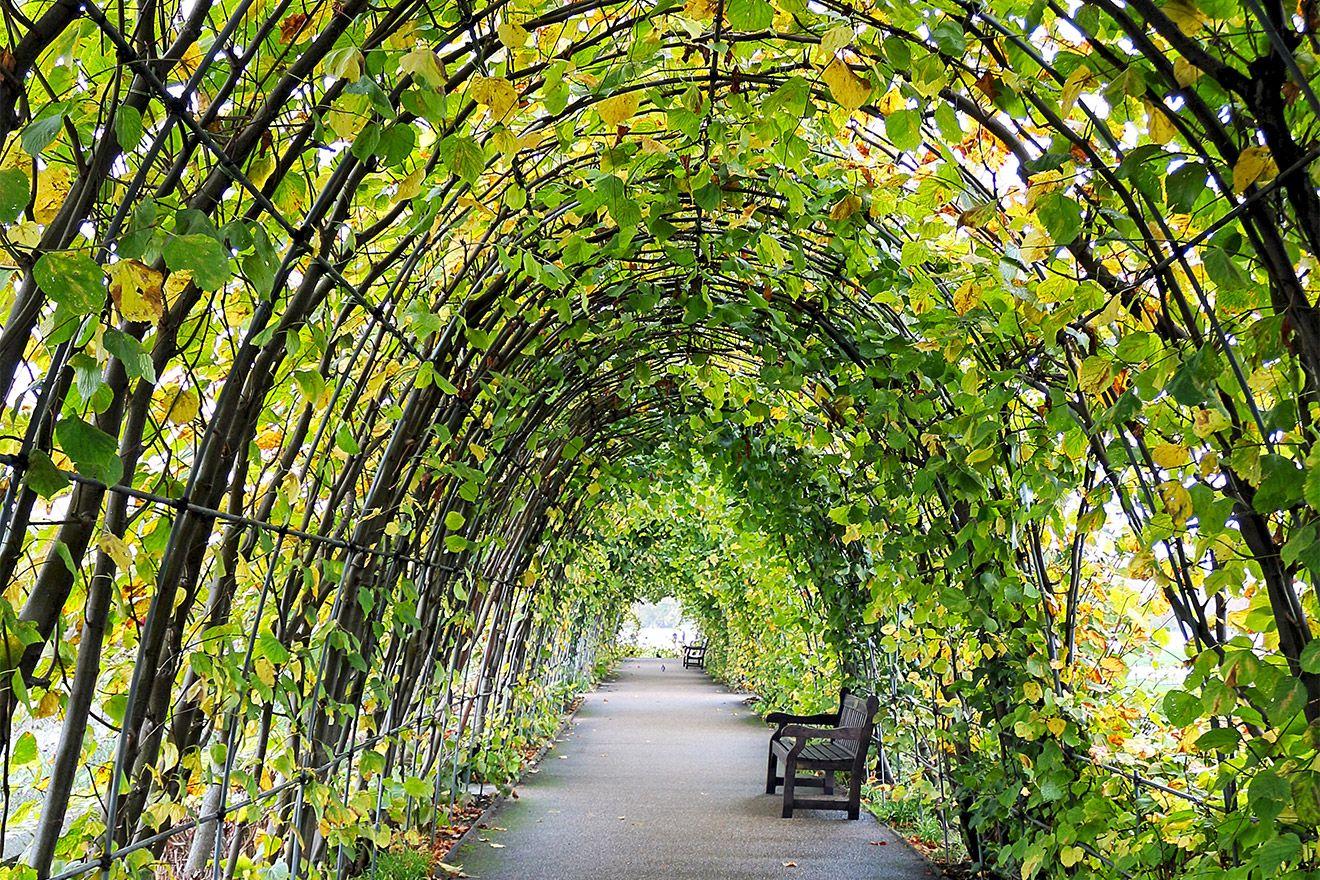 Archways in Kensington Gardens London