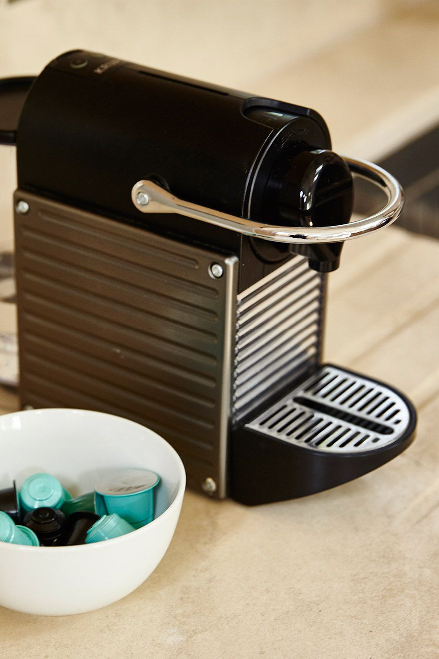 Nespresso machine in kitchen of the Victoria vacation rental offered by London Perfect