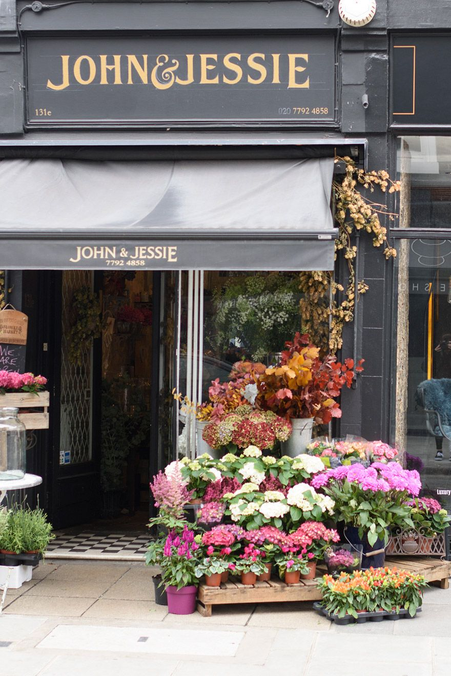 John and Jessie Florist in Kensington London