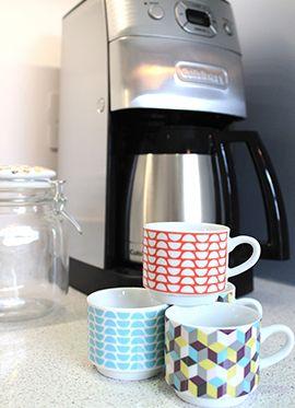 Coffee or tea? Your choice!