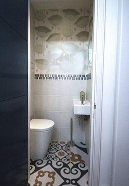 Extra half bath located near the living room