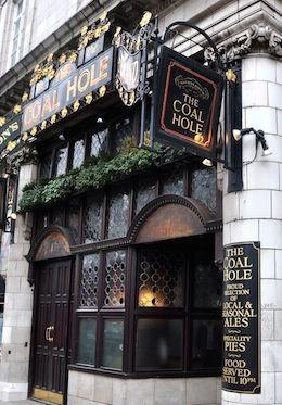 Enjoy a pint of beer at a traditional English pub