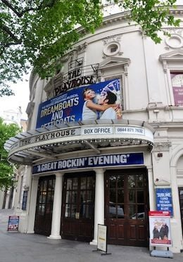 Walk to the Playhouse Theatre in London