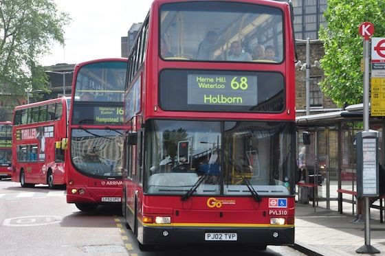 Catch the bus and enjoy a free sightseeing trip of London