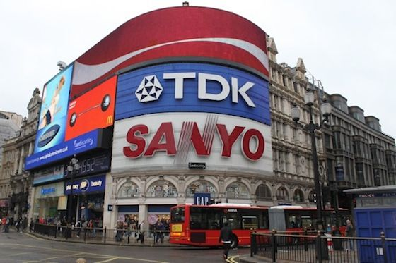 Head to Piccadilly Circus - the shopping heart of London
