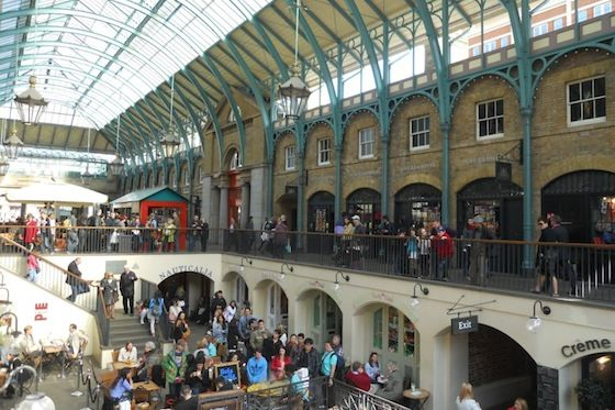 Shopping in Covent Garden
