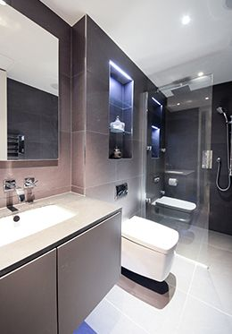 London Apartment Rental En Suite Bathroom