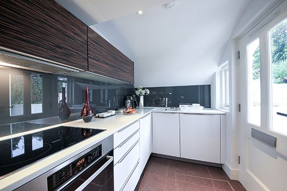 Fully Equipped London Apartment Kitchen