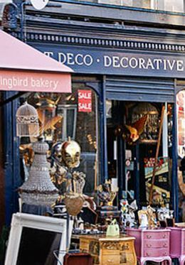 Portobello Road Antiques London