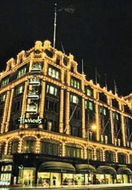 Shop at the famous Harrods department store in Knightsbridge