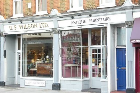 Search for treasures along Fulham Road in Chelsea