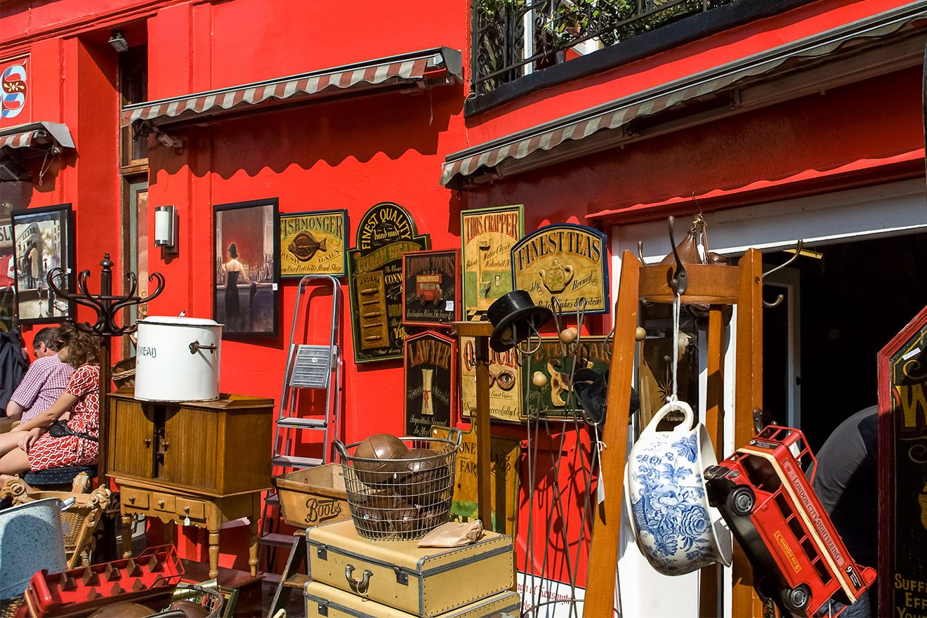 Alice's Antique Shop Portobello Road Market