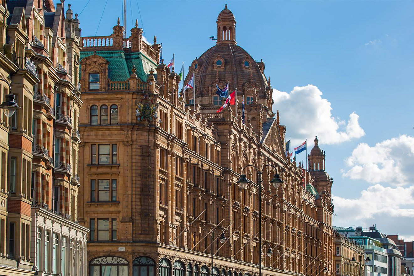 Harrods department store exterior