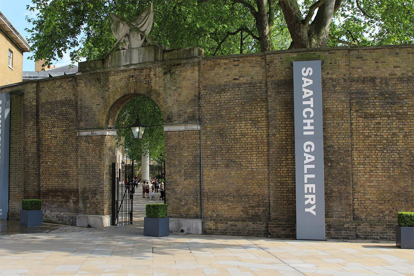 Saatchi Gallery Entrance