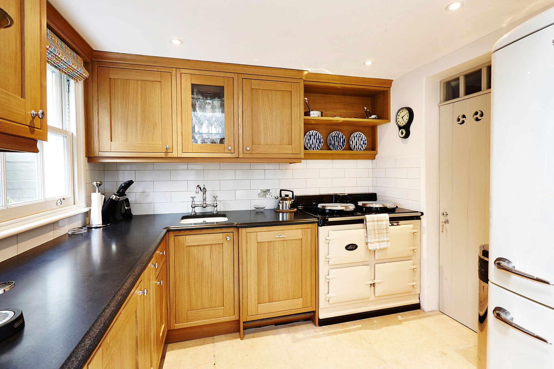 Three oven Aga cooker in the Wellington vacation rental offered by London Perfect