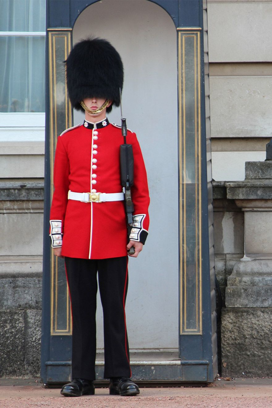 A Palace Guard at Buckingham Palace