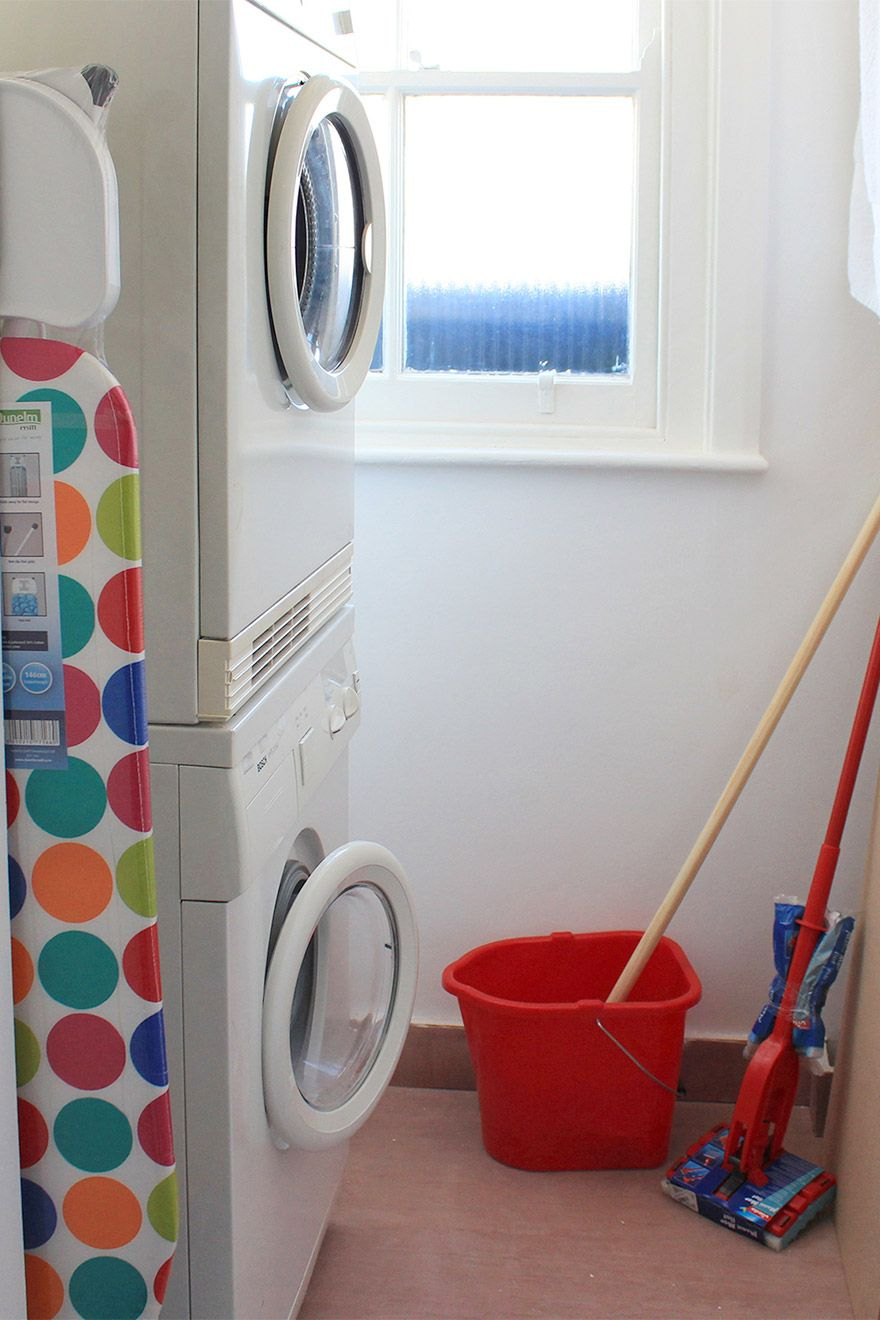 Separate washer and dryer at London vacation rental