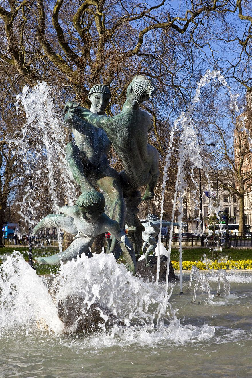 Joy of Life Fountain in Hyde Park London