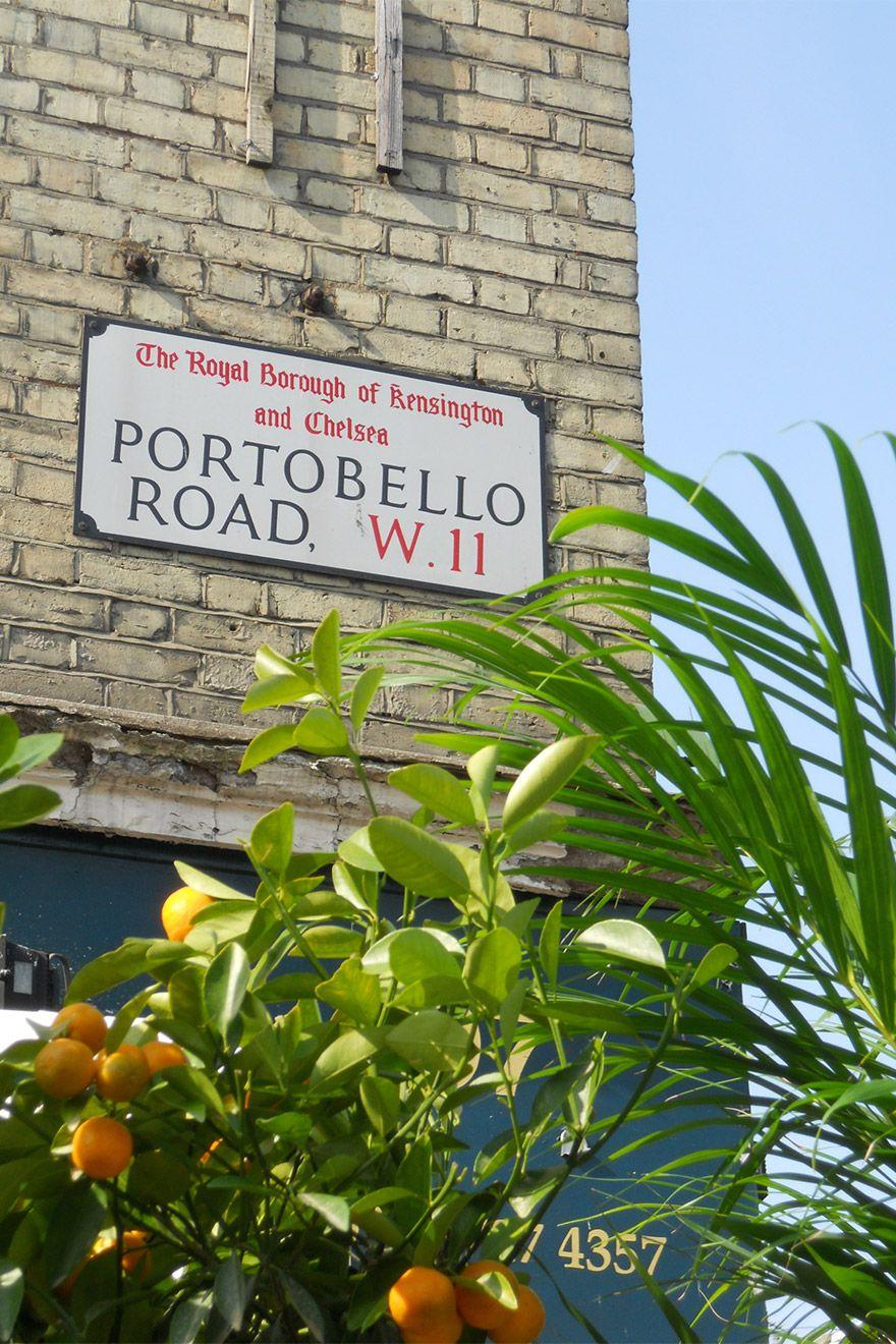 Portobello Road Street Sign