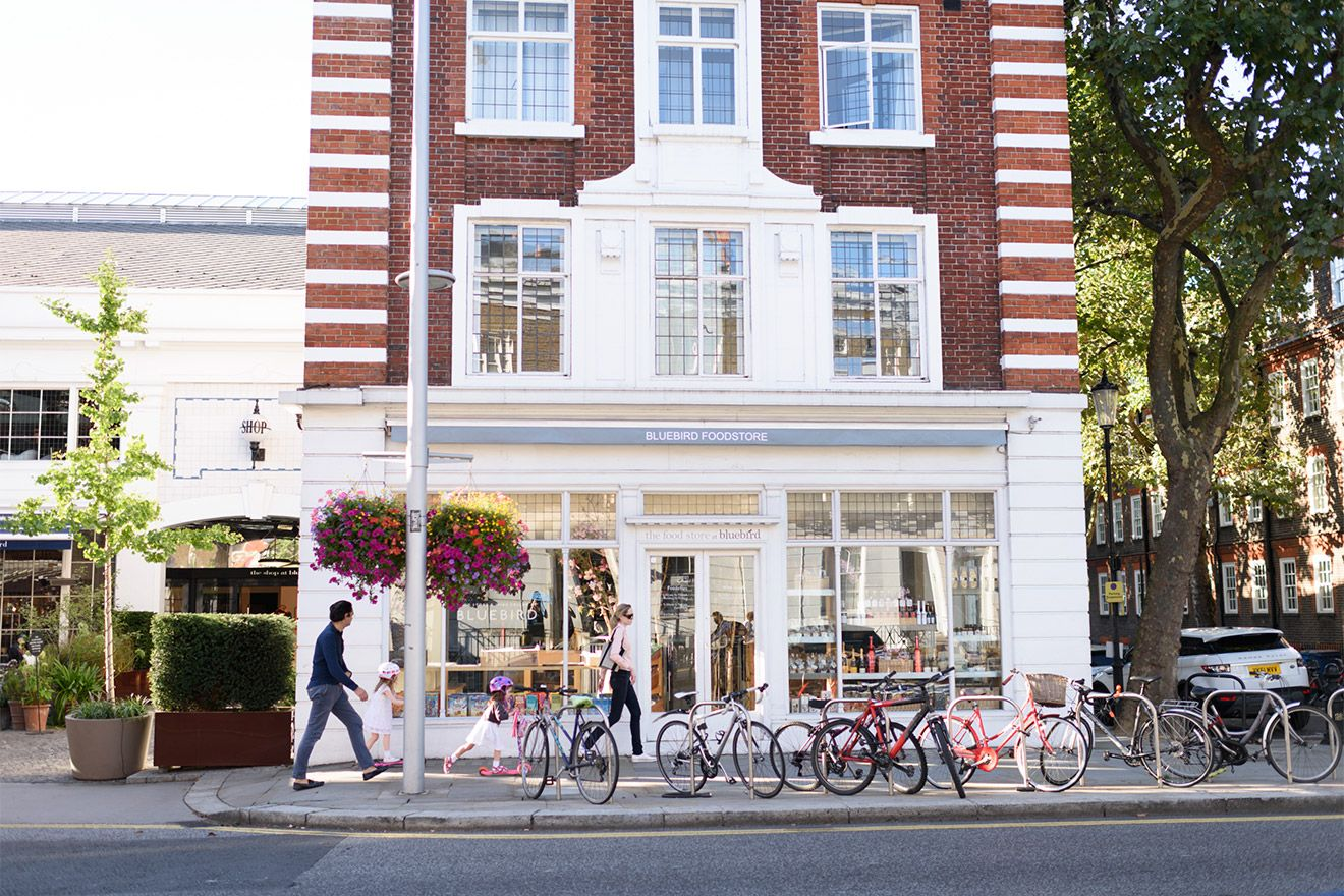Charming shopping areas in Chelsea