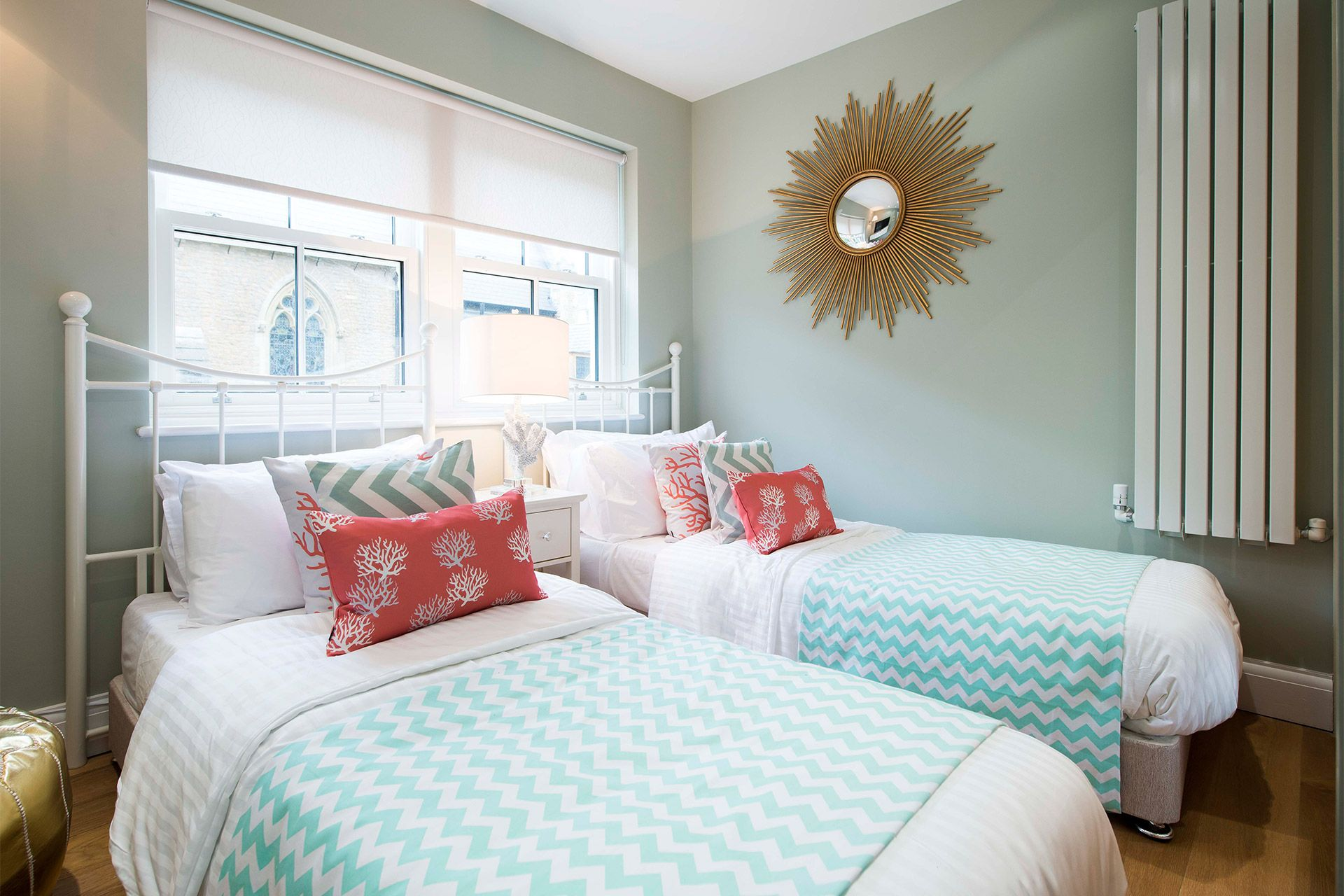Charming third bedroom of the Eldon vacation rental offered by London Perfect