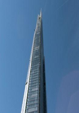 The Shard - 95 storey scy scraper part of London Bridge