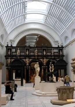 Enjoy the fabulous collections at the Victoria and Albert Museum