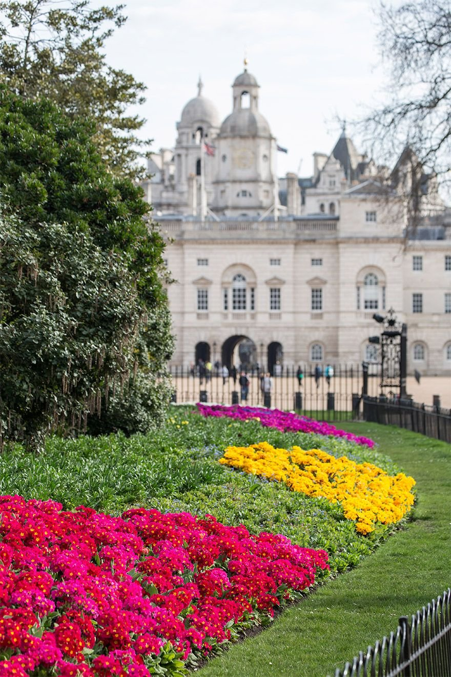 Saint James Park to the Royal Horseguard's Hotel