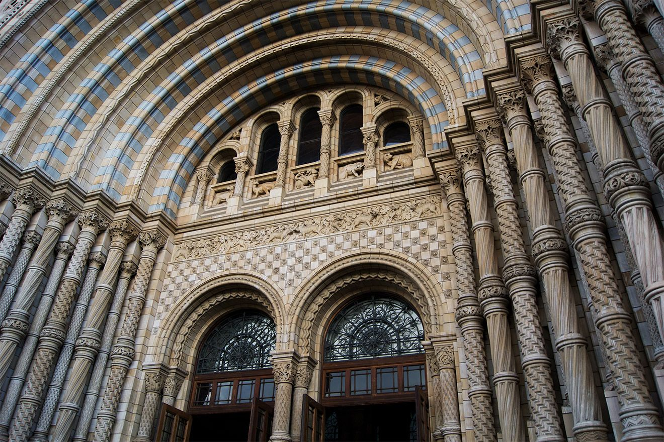 Entrance to National History Museum