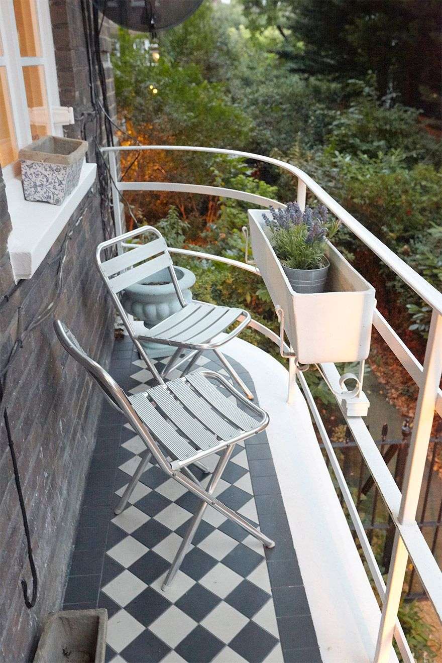 Balcony of the MacDonald vacation rental offered by London Perfect