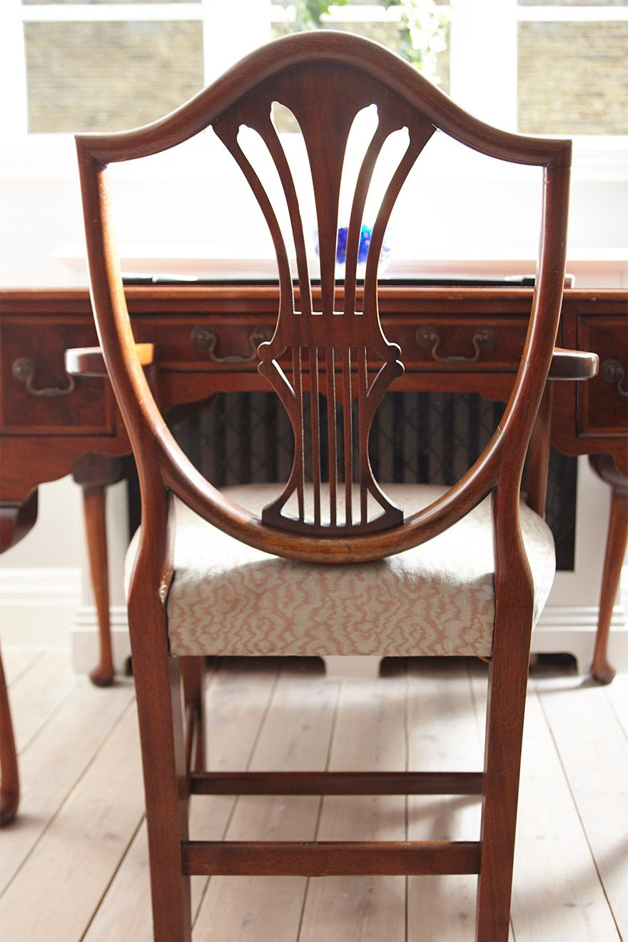 Antique chair in the MacDonald vacation rental offered by London Perfect