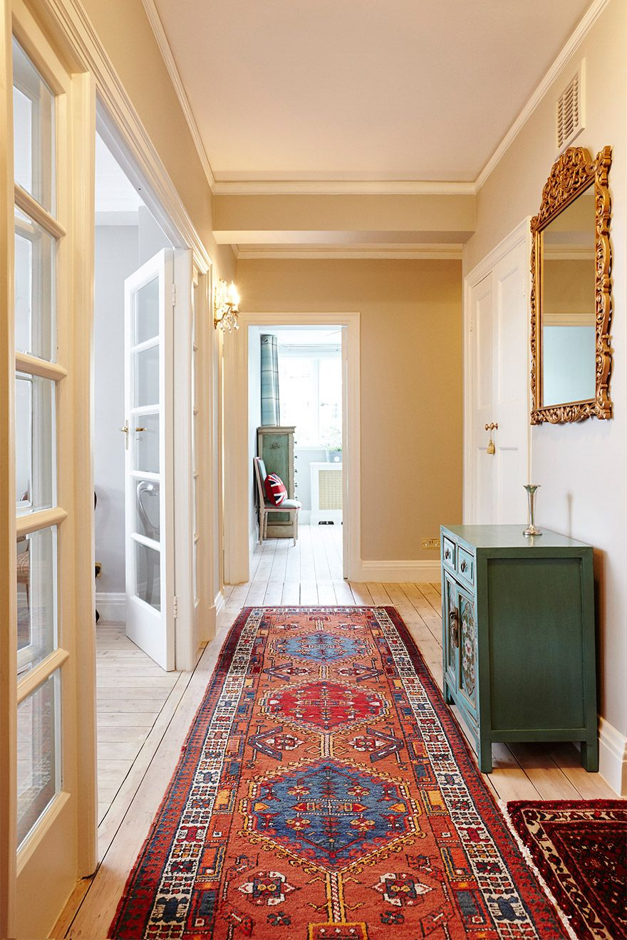 View of the Hallways towards the bedrooms of the MacDonald vacation rental offered by London Perfect