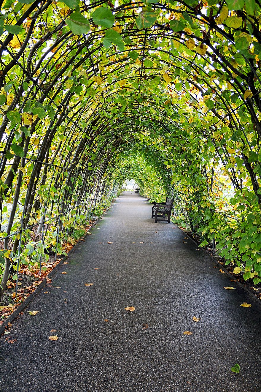 Archways in Kensington Gardens London