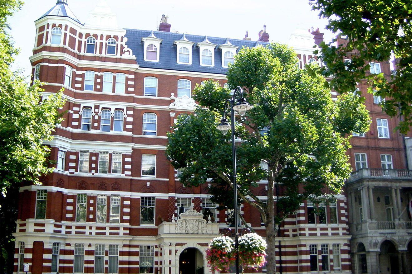 Street in Kensington London