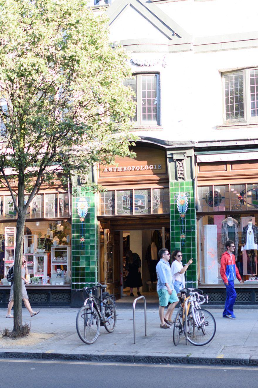 Anthropologie shop in Chelsea London