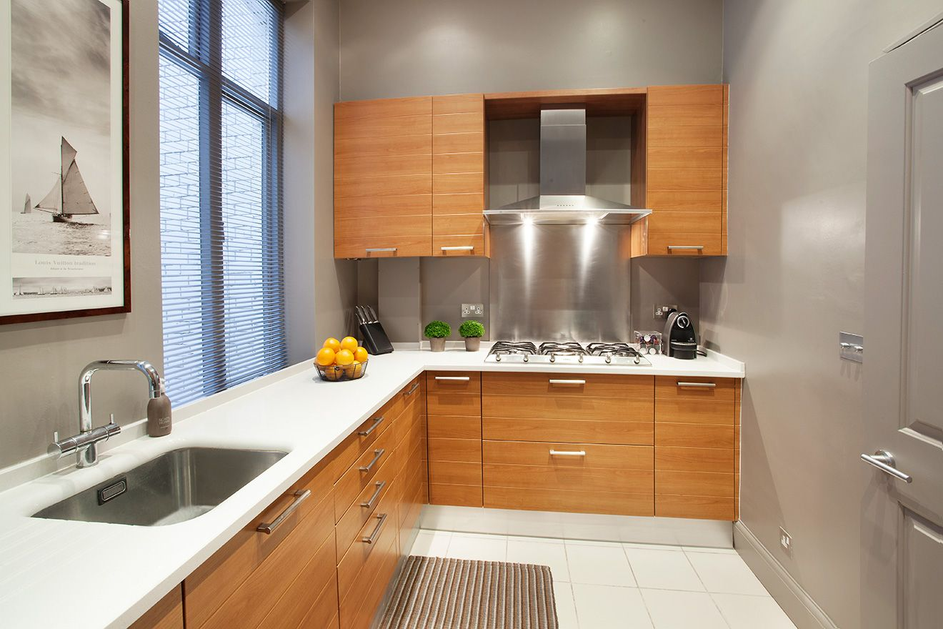 Well equipped kitchen of the Sloane vacation rental offered by London Perfect