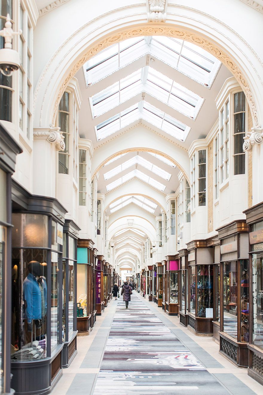 Charming Shopping Arcade in London