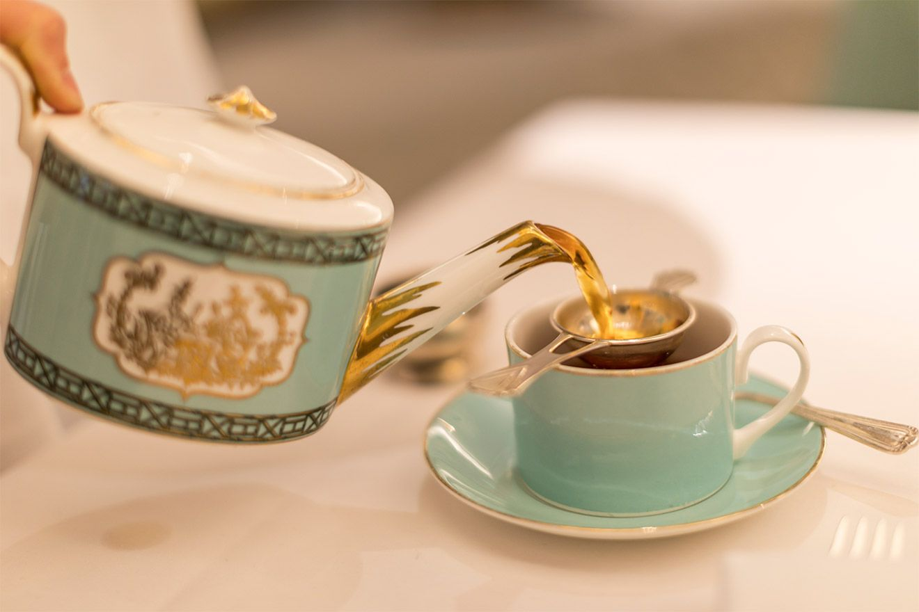 Enjoy your afternoon tea in style at Fortnum and Mason