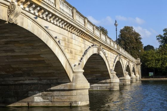 Bridge across the Serpentine