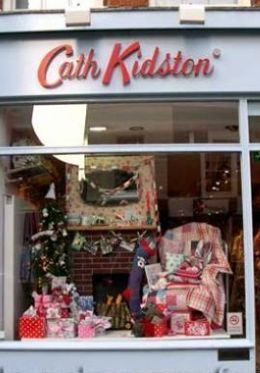 Cath Kidston shop as Piccadilly Circus London