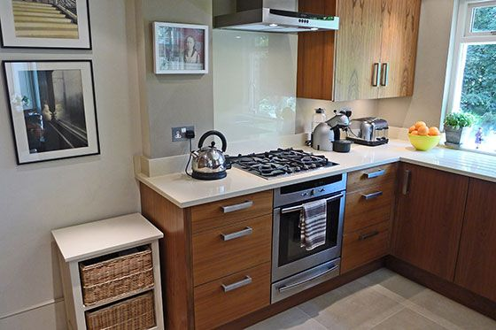 Fully Equipped Kitchen of the Chatham vacation rental offered by London Perfect